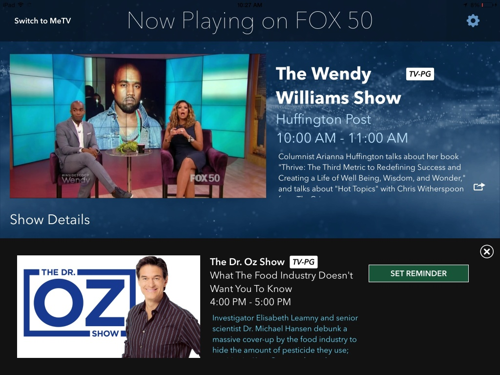 TotalCast can re-skin it's white label Watch App or integrate its technology into a pre-existing mobile app. For Affiliates with a successful news app, TotalCast can bring live, network content into the app, allowing the station to leverage pre-existing app downloads and streamline its digital footprint.